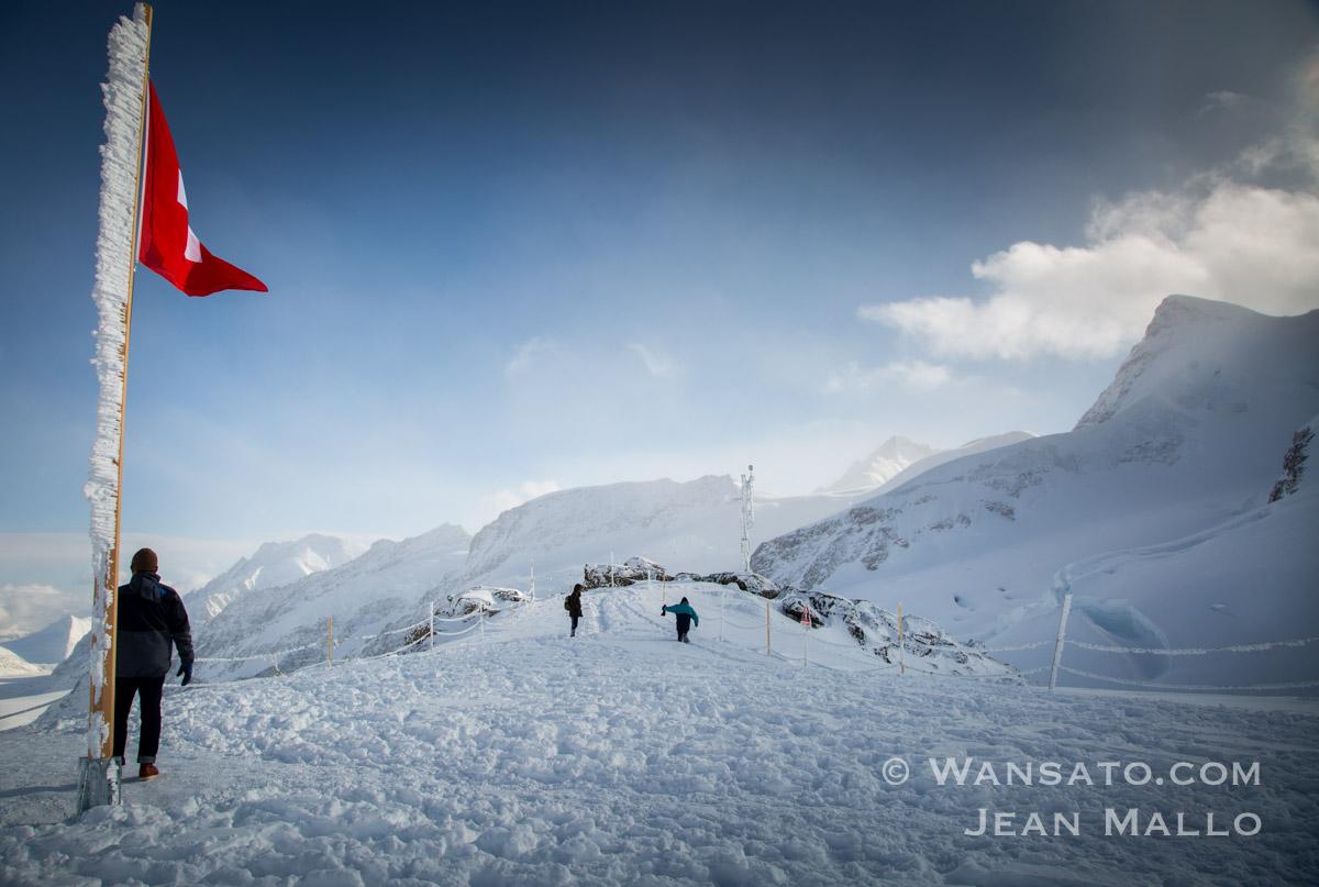 Les Sommets Du Jungfraujoch En Suisse