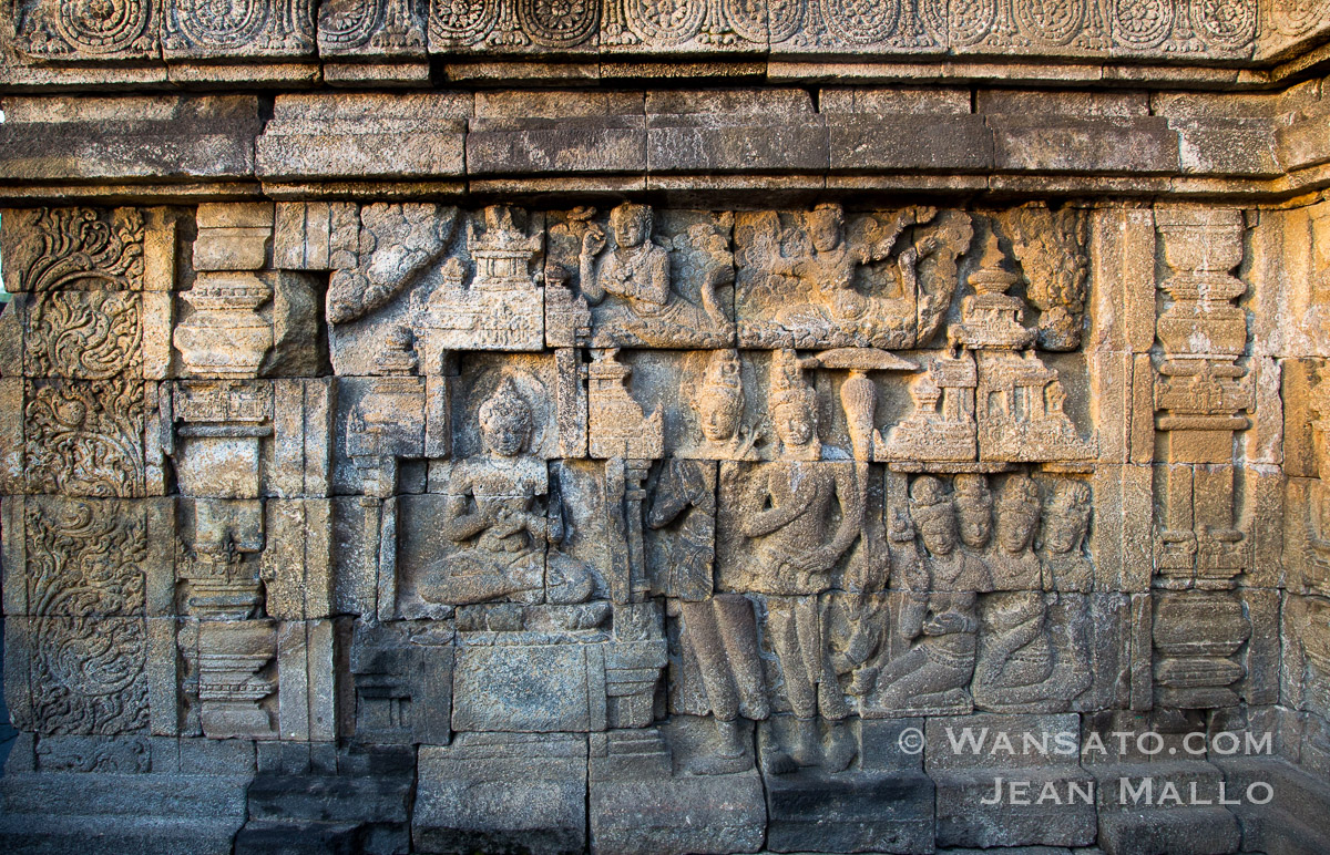 Indonésie - Le Temple De Borobudur à Java