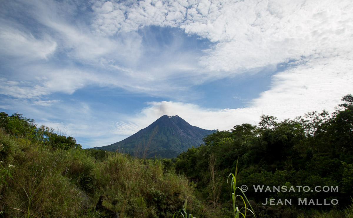 Indonésie - Le Mont Merapi