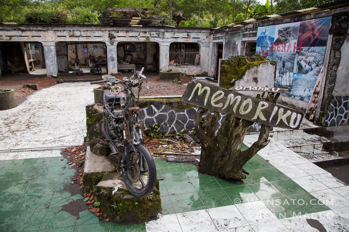 Indonésie - Un Village Abandonnée Près Du Mont Merapi