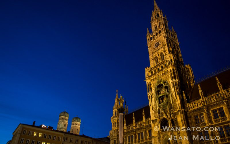 La Marienplatz De Munich