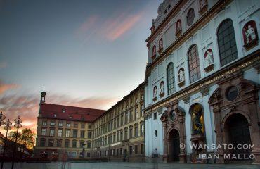 Eglise Dans Les Rues De Munich