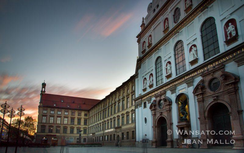 Portfolio Eglise Dans Les Rues De Munich