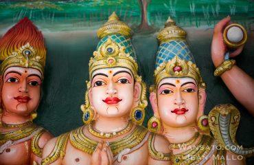 Les Têtes De Sri Mahamariamman