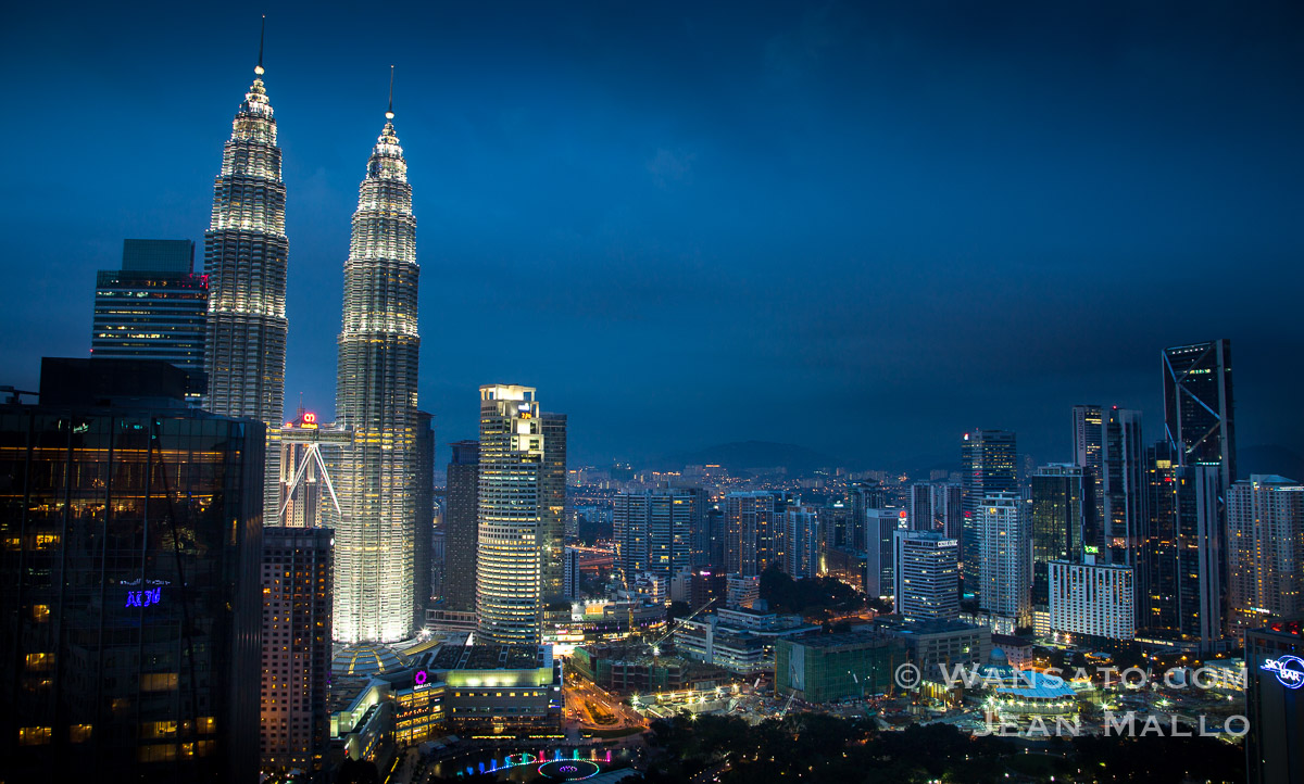 Les Tours Petronas De Kuala Lumpur