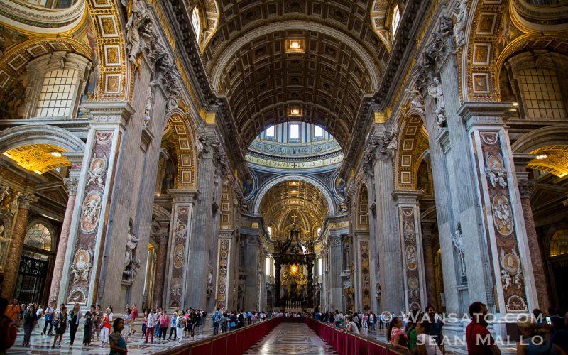 Portfolio Vatican – L'intérieur De L'église Saint Pierre