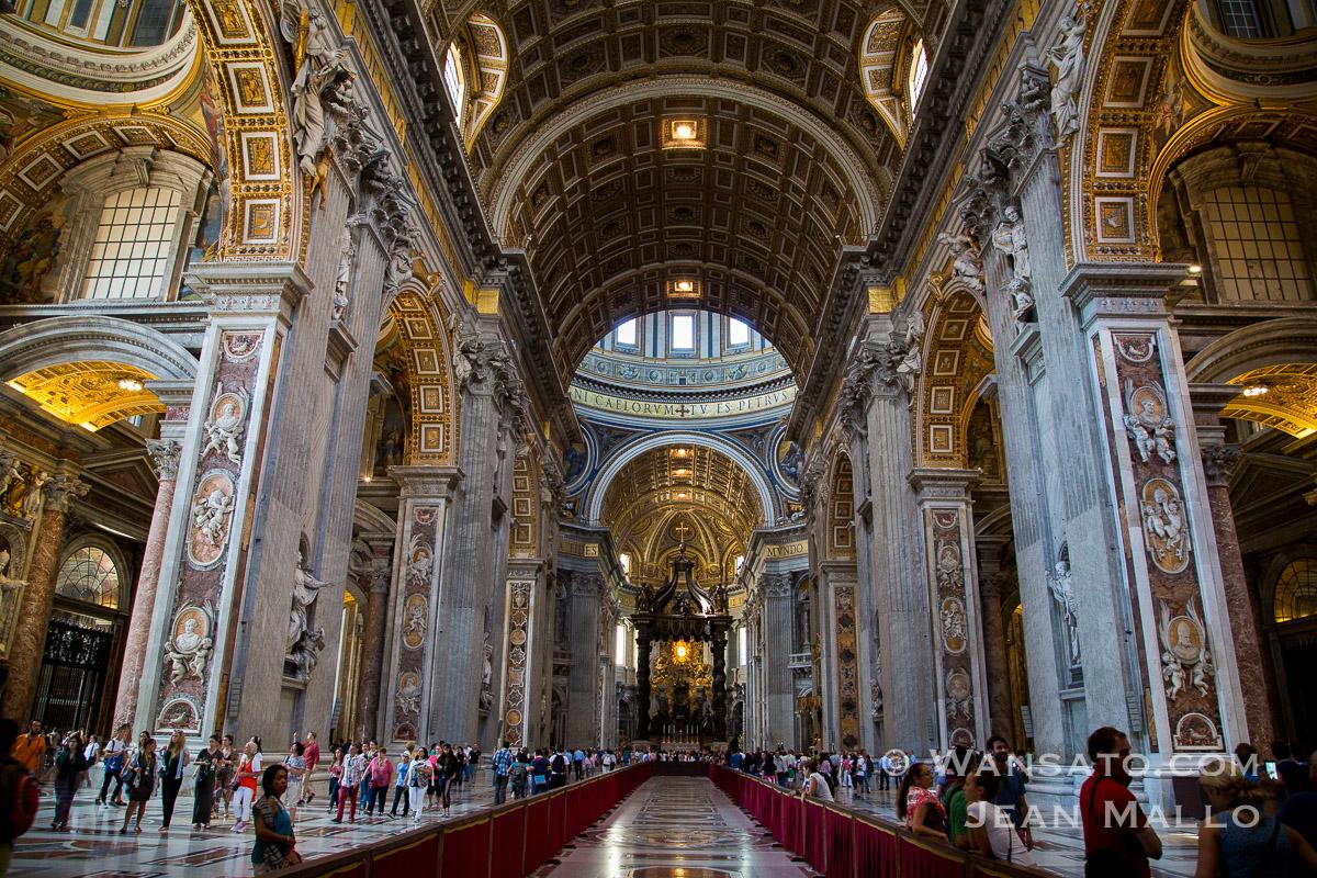 L'église Saint Pierre Du Vatican