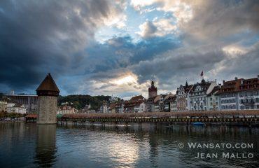 Le Lac Des Quatre Cantons à Lucerne