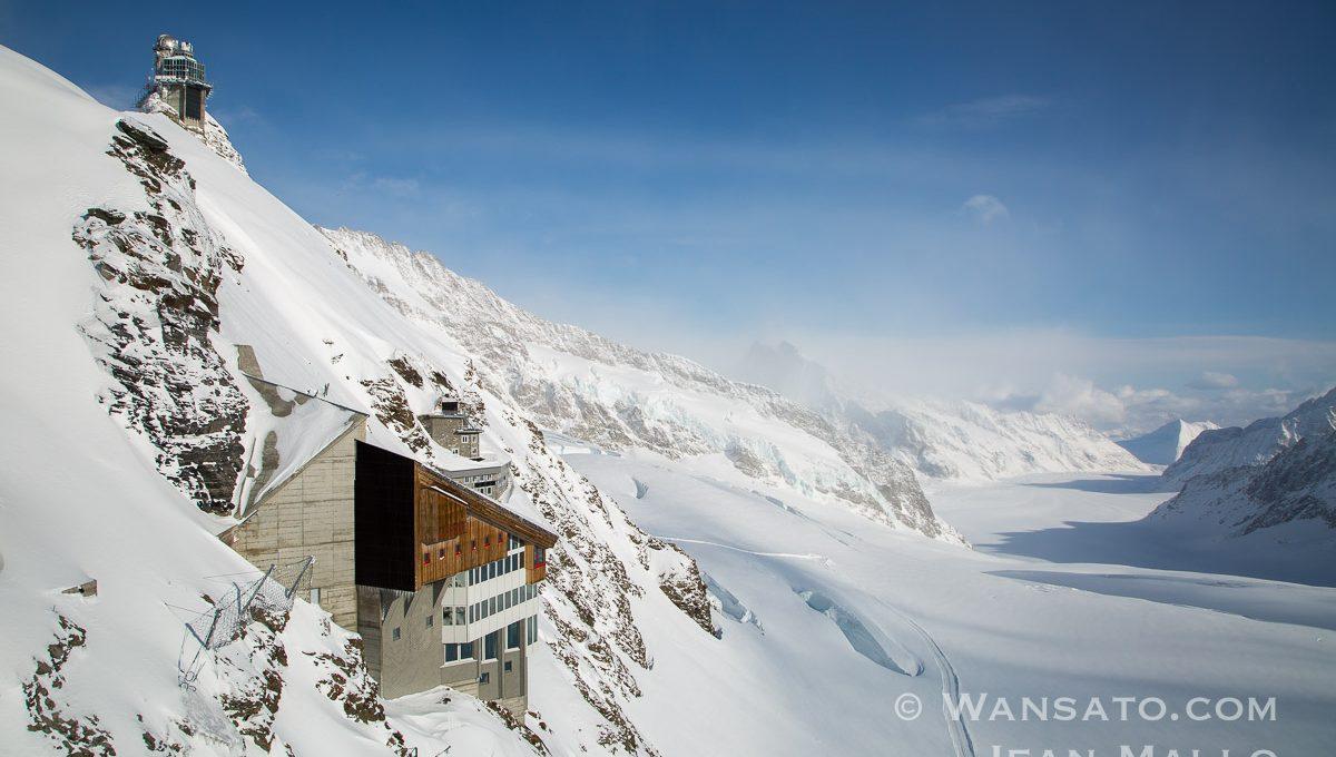 Suisse - Le Plateau à La Jungfraujoch
