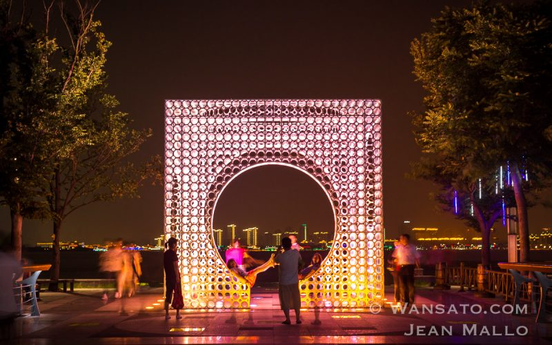 Portfolio Le Cube à Suzhou Time Square