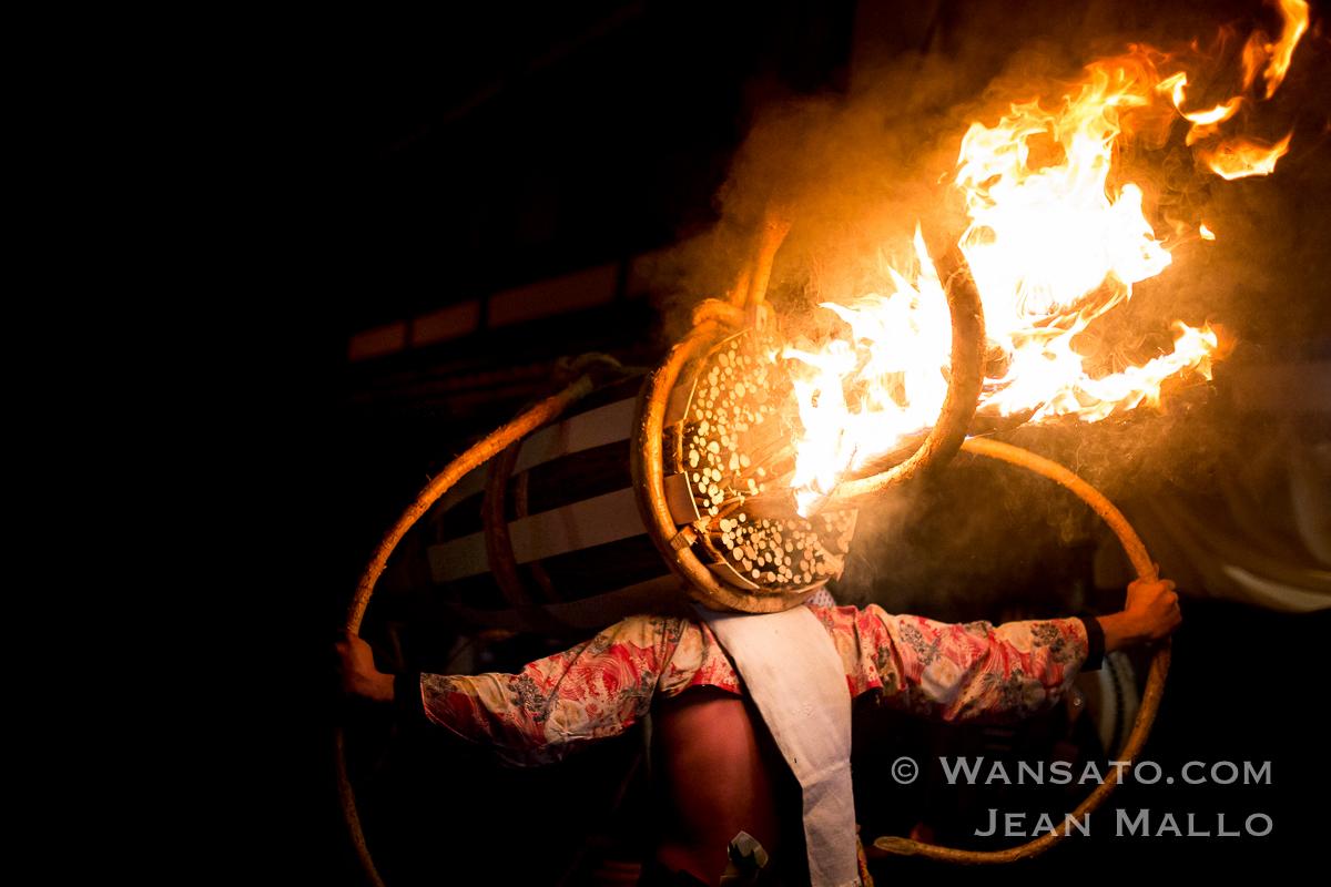 Festival Du Feu à Kurama