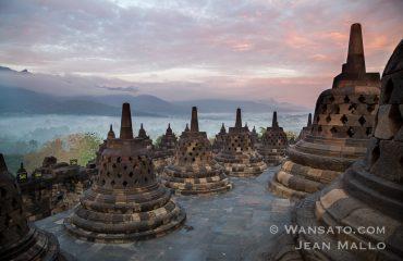 Borobudur Au Matin