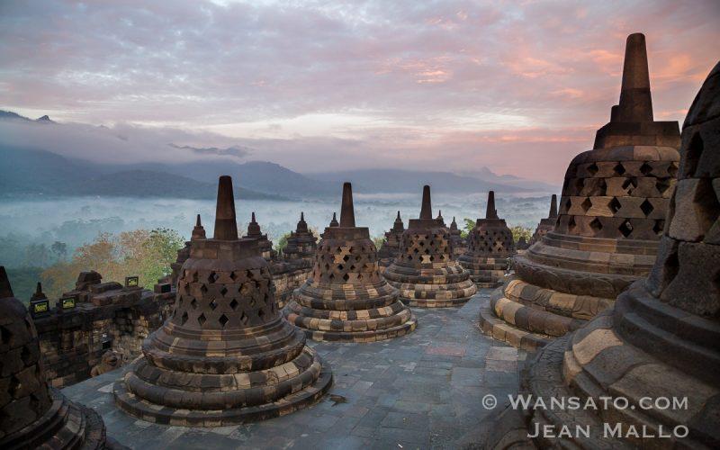 Portfolio - Borobudur Au Matin