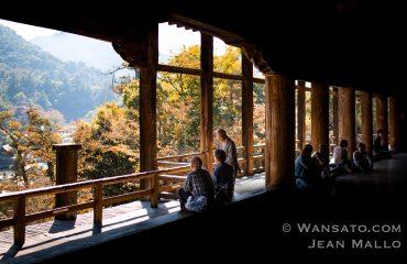 Le Temple Senjokaku à Miyajima