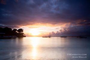 Portfolio - Coucher De Soleil à Nusa Lembongan