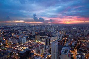 Portfolio - Coucher De Soleil Sur Singapour